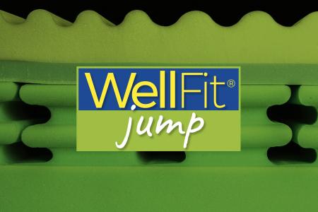 Wellfit Jump - medaglia d'oro del riposo. Il materasso per gli sportivi